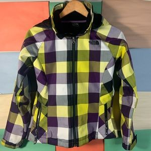 The North Face Checkered TNF Apex Jacket size S